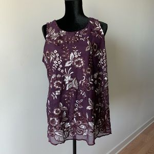 Charter Club Lace Top